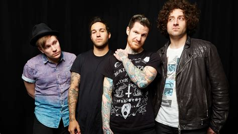 fall out boy fall out boy bring pop up shop to london upset