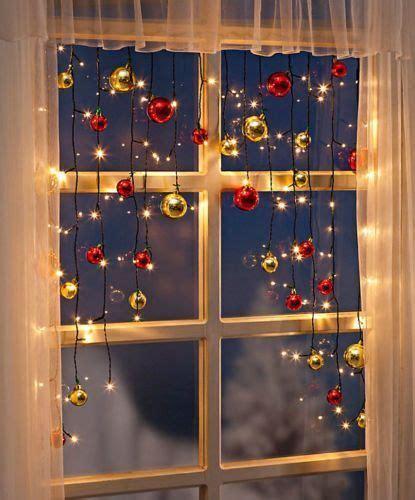 Weihnachtsdeko Fenster Kugeln by Die Besten 17 Ideen Zu Led Lichterkette Auf
