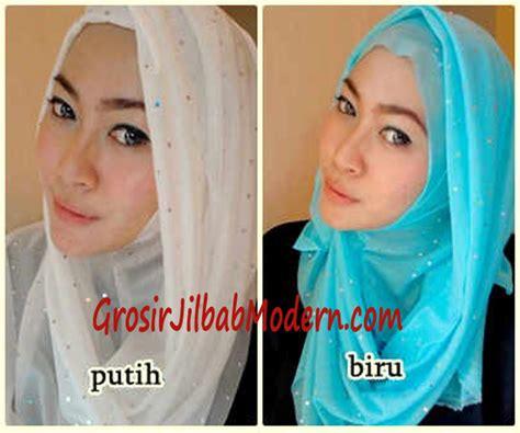 Jilbab Segiempat Umama Aladin Simple Branded pashmina instan syahira putih dan biru grosir jilbab modern jilbab cantik jilbab syari jilbab