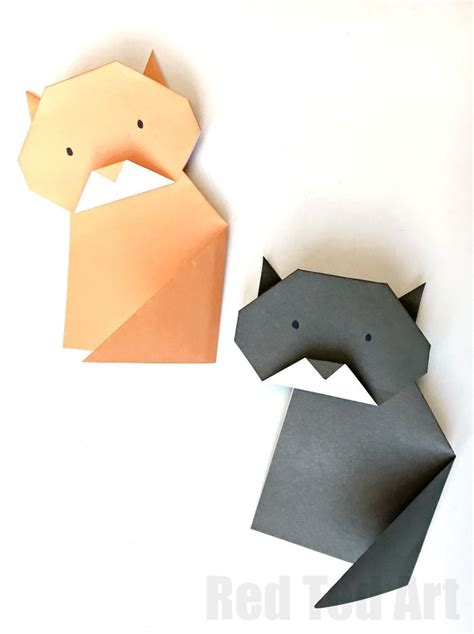 3d Origami Cat Tutorial - 17 best ideas about easy origami on diy