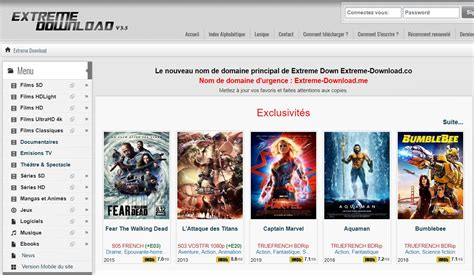 les  meilleurs sites de telechargement direct de films
