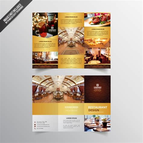 restaurant flyer design vector restaurant flyer design vector free download