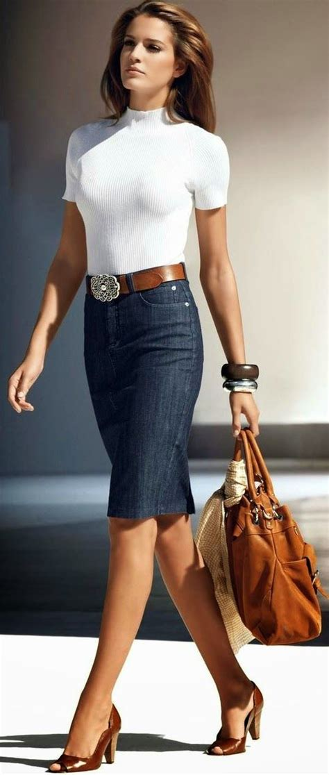 white top with skirt chic my