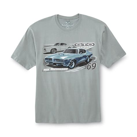 Pontiac Gto T Shirts by Out Of Bounds S Big Graphic T Shirt 1969