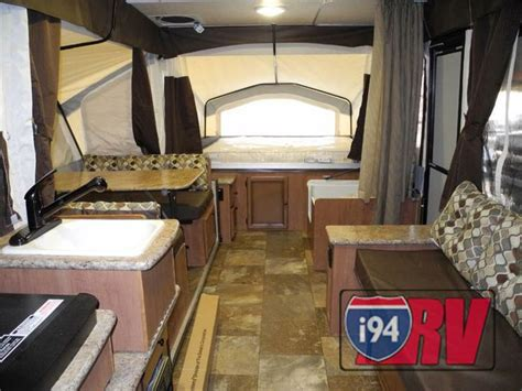 popup with bathroom palomino pop up cer rv with bathroom kitchen sleeps 8 awesome rvs pinterest
