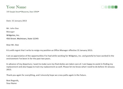 Resignation Letter on a Short Notice with Guidelines and Samples   EnkiVillage