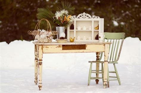 winter shabby chic weihnachten pinterest