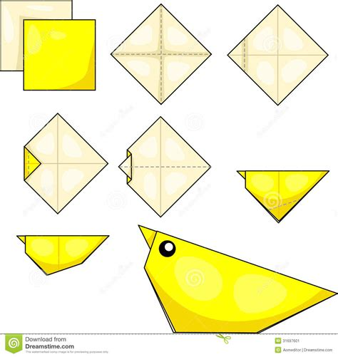 Origami Illustrator - origami stock image image 31697601