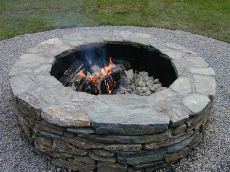 building fire pit in backyard building a backyard fire pit how tos diy