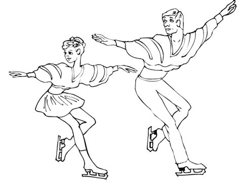 figure skating coloring pages az coloring pages