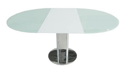 Table Salle A Manger Blanc Laqué 679 by Table Contemporaine En Verre D 233 Couvrez La Table Damasia