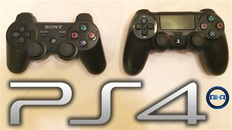 ps4 controller vs ps3 playstation 4 dualshock 4 controller features sony console 2013 hd