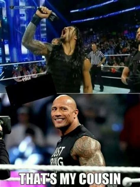 rock and roman reigns roman reigns wwe wrestling quotes quotesgram