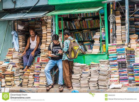 the market books book market in college editorial stock photo