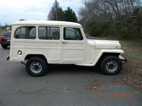 1950 Jeep Wagon 1950 Willys Jeep Overland Wagon
