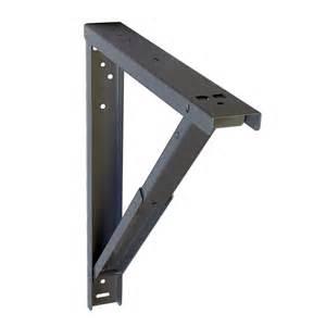 Support pour table rabattable aluminium 7 x 44 cm leroy