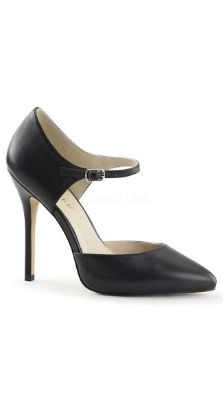 Pointy Pumps With Ankle chic pointy toe with ankle black pumps