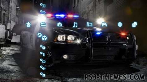 slideshow themes ps3 ps3 themes 187 cop cars slide show dynamic theme