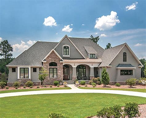 beautiful french country estate custom home with 3 881 square feet of living area