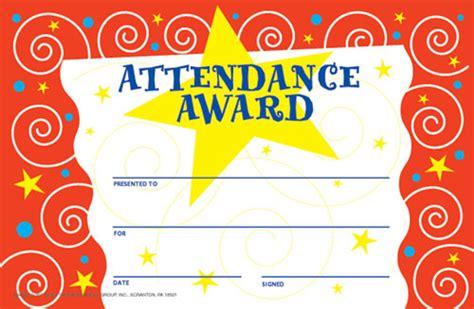 attendance award template certificate of attendance templates certificate templates