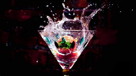 cocktail splash cocktail splash 1920 215 1080 wallpaper hd desktop widescreen