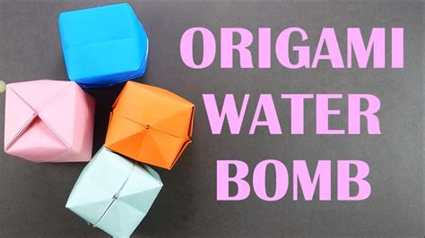 How To Make Paper Water Balloon - origami appealing origami water balloon origami water