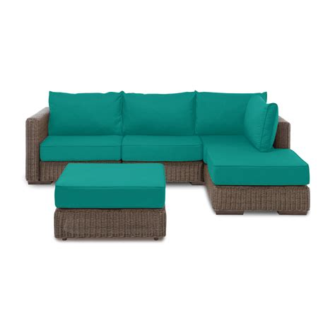 rearrangeable sectional outdoor chaise sectional ottoman macaw sunbrella cover