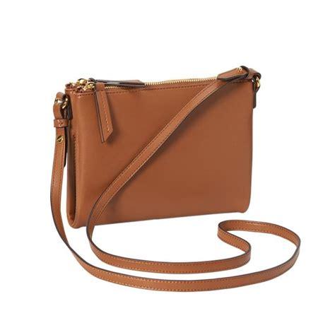 rank style navy faux leather crossbody bag