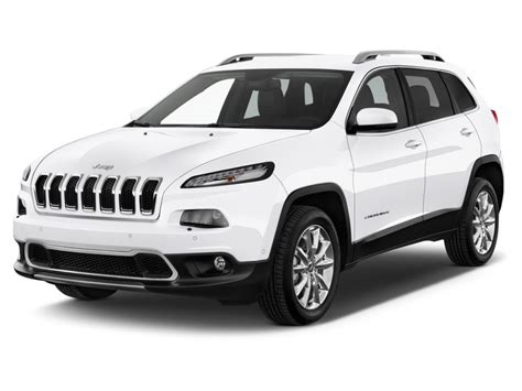 exterior view image 2017 jeep cherokee limited fwd angular front