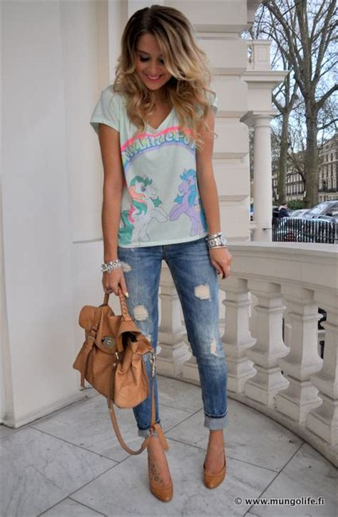 cute outfit  jeans glam radar