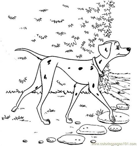 pretty perdita coloring page free 101 dalmations