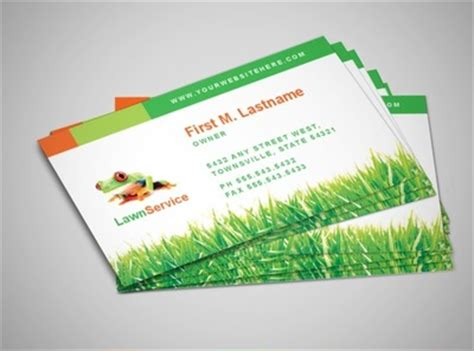 lawn service business card template 9 best images of lawn maintenance flyers lawn care flyer