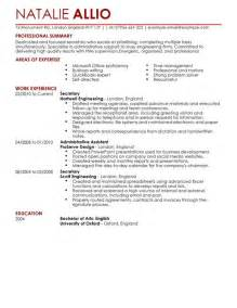 secretary admin assistant cv example for admin livecareer
