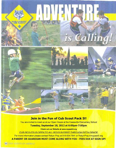Cub Scout Roundup Flyer Google Search Scouting Ideas Pinterest Tiger Scouts Scout Flyer Template