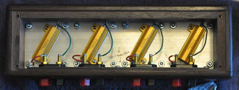 diy dummy load resistors dummy speaker load box