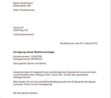 Musterbrief Kündigung Handyvertrag Base Girokonto K 252 Ndigen H 228 Ufige Fehler Vermeiden