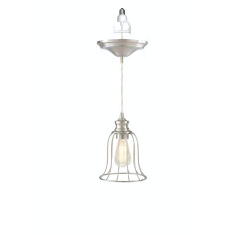 home decorators collection 1 light nickel pendant
