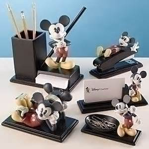 Mickey Mouse Desk Accessories Color Mickey Mouse Desk Set 5 Pc