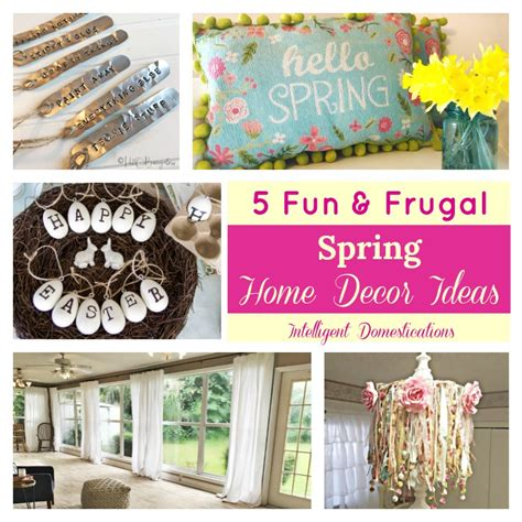frugal home decor fun frugal spring home decor ideas merry monday 194