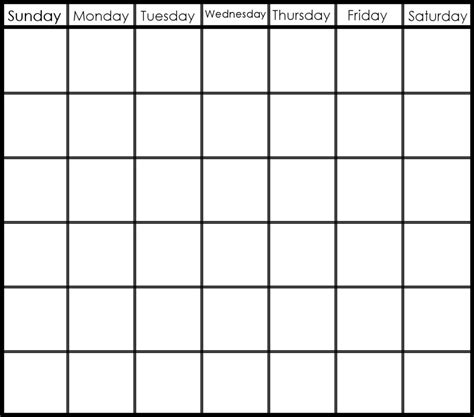 search results for week calendar template monday friday
