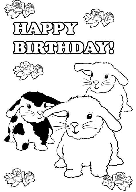 birthday coloring page birthday coloring pages