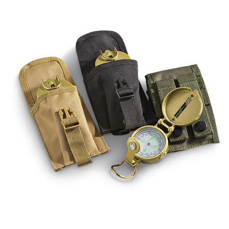Accessories Pouch molle style accessory pouch with lensatic compass 168006 compasses books maps at