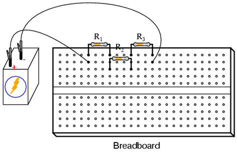two resistors in parallel breadboard ent 171