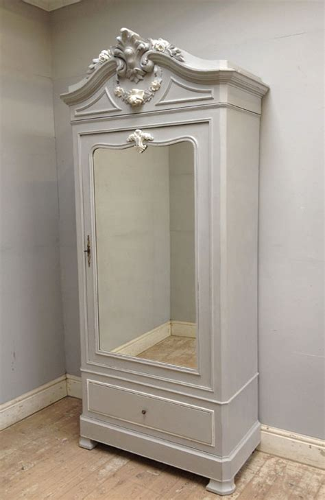 Door Armoire by If3081 Antique Single Door Armoire