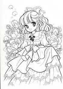 anime coloring book vintage japanese coloring book 7 and