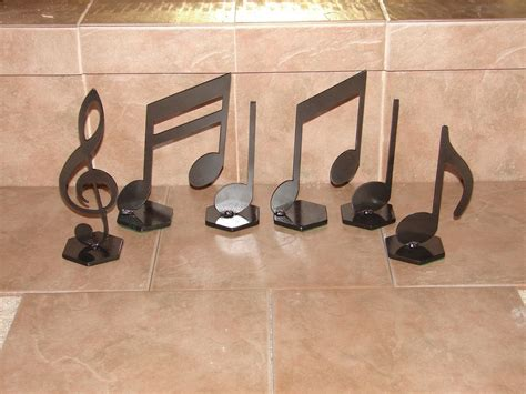 Musical Home Decor | musical notes home decor metal art music note set