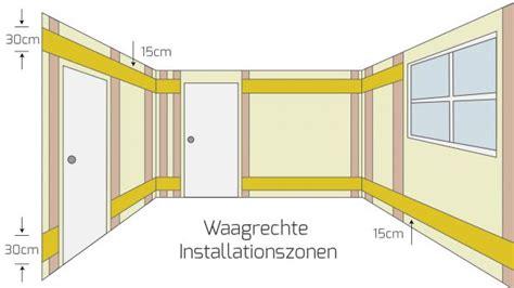 installationszonen nach din 18015 3 ber 252 hmt arten elektroarbeiten fotos der schaltplan