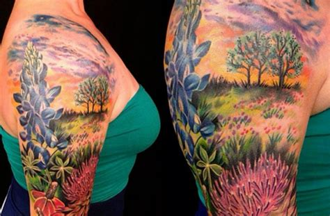 texas themed tattoos 10 themed tattoos you to see