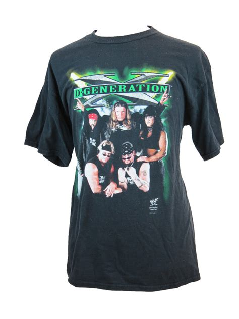 Kaos D Generation X It Retro T Shirt vintage wwf d generation x black t shirt 5 vintage