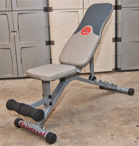 universal bench universal five position weight bench ub300 all seasons